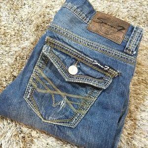 SEVEN7 Mens Straight Leg Jeans Size 30/30